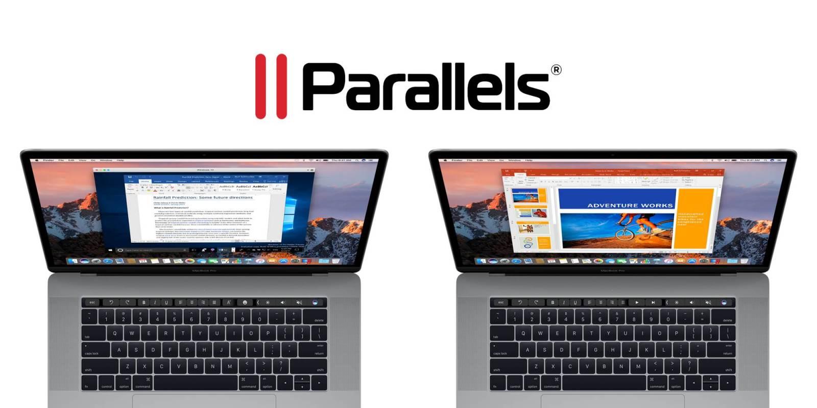 Parallels Desktop 13 для Mac научилась поддерживать виртуальную