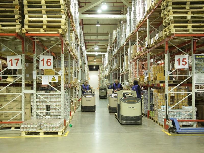 12NEWS: Топлог :: WMS-система от компании «Топлог» внедрена на складе продуктов питания площадью 26000 кв.м