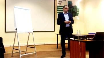 Филипп Гуров рассказал молодым предпринимателям об особенностях PR-продвижения стартапов