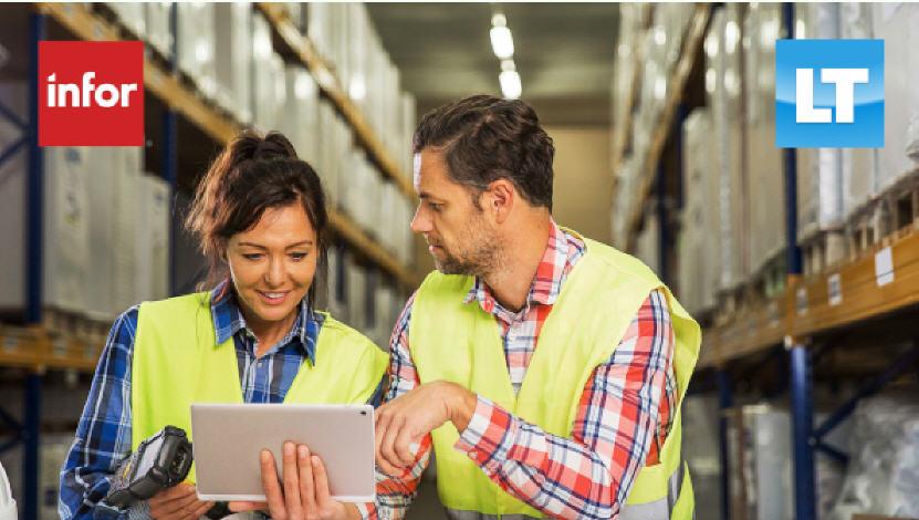 12NEWS: Infor :: Infor и «ЛТ Менеджмент» представят на CeMAT 2021 передовые продукты для управления складом, персоналом и производственным оборудованием